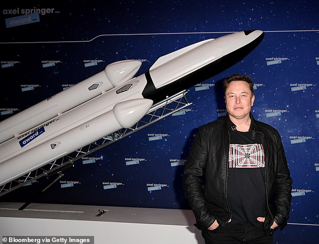 The price of the joke cryptocurrency Dogecoin has soared once again after Elon Musk decreed himself the 'Dogefather' in reference to his upcoming appearance on Saturday Night Live