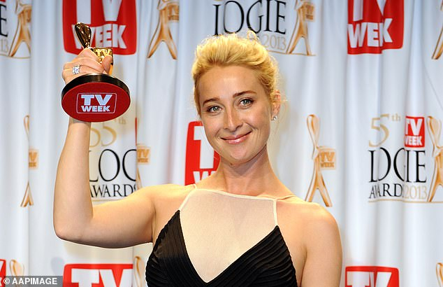 Golden girl! Her portrayal of Dr Proudman earned her the Most Popular Actress award and coveted Gold Logie win in 2013