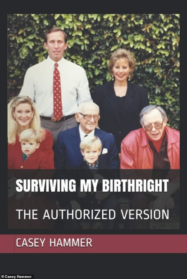 Memoir: Casey is now 'shopping the project to broadcasters and streamers,' which will be partly based on her 288-page self-published 2015 tome, Surviving My Birthright