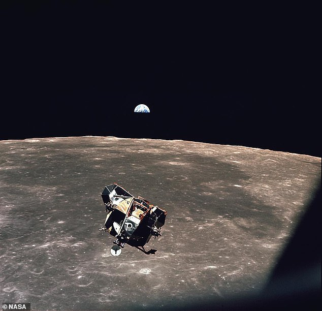 Collinsremained alone for more than 21 hours until his two colleagues returned in the lunar module and lost contact with mission control in Houston each time the spacecraft circled the dark side of the moon
