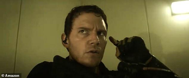 On his command: Pratt guides his team through the eerie scene