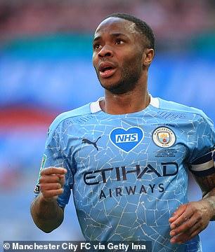 Man City winger Sterling