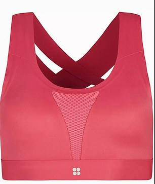Aliza recommends Sweaty Betty's bra tops for lower impact activities such as yoga or Pilates