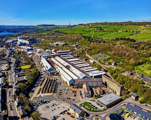 Threat: The future of the Stocksbridge steel plant – which makes specialist steel for use in aviation, aerospace, defence and medical products - hangs in the balance