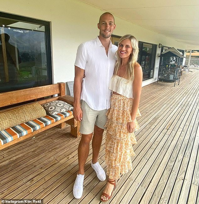 For sale: Sydney Swans star Sam Reid has listed his South Coogee home. The 29-year-old footballer and his wife, Kim, have set an auction date of May 22 for the four-bedroom home