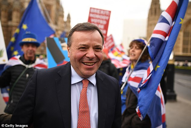Meanwhile, the National Crime Agency found 'no evidence' of criminal offences against Leave.EU boss Arron Banks