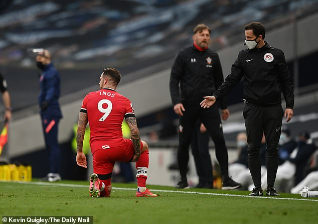 However, he pulled up with the hamstring issue not long after and was subbed off