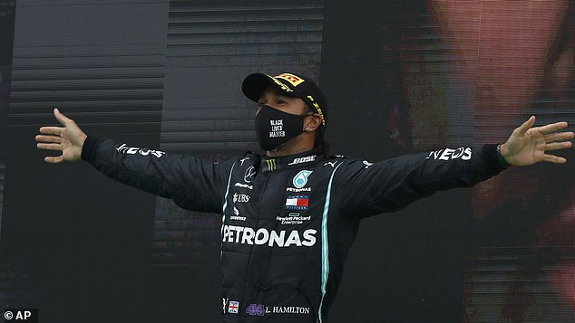 Lewis Hamilton claimed his record 92nd Grand Prix win at the Portuguese GP last year