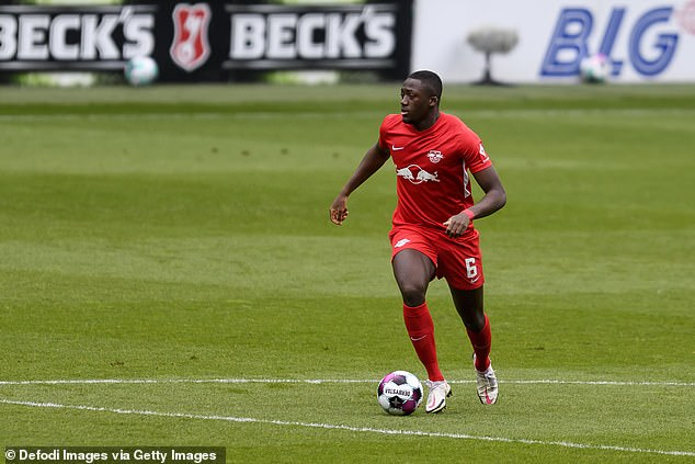 Defender Ibrahima Konate has also been linked with a move to Anfield at the end of the season