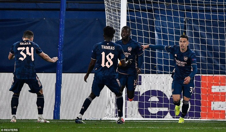 Arsenal looked down and out at 2-0 down, especially down to 10 men, but Pepe netted a crucial away goal on Thursday