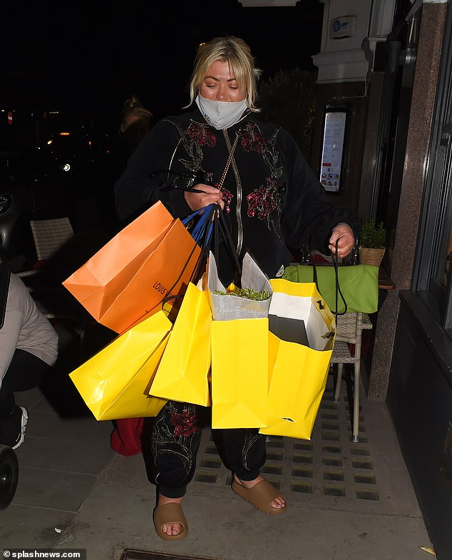 Splashing the cash!Gemma Collins enjoyed an afternoon of indulgence on Thursday, as she hit the shops in central London before joining some friends for an Italian dinner