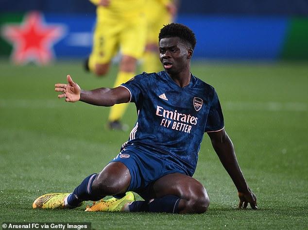 Bukayo Saka claims Arsenal showed they are a 'better' team that Villarreal despite losing