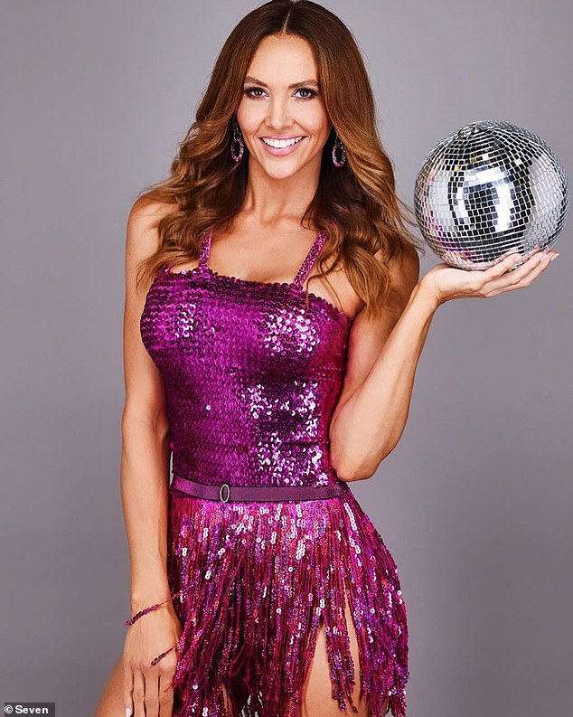 Horrific injuries:Kyly Clarke reached the finale for Dancing With The Stars All Stars season, but behind the glittering outfits was left with horrific injuries as a result of the competition.Speaking to News.com.au the 38-year-old revealed 'My ribs absolutely got smashed'