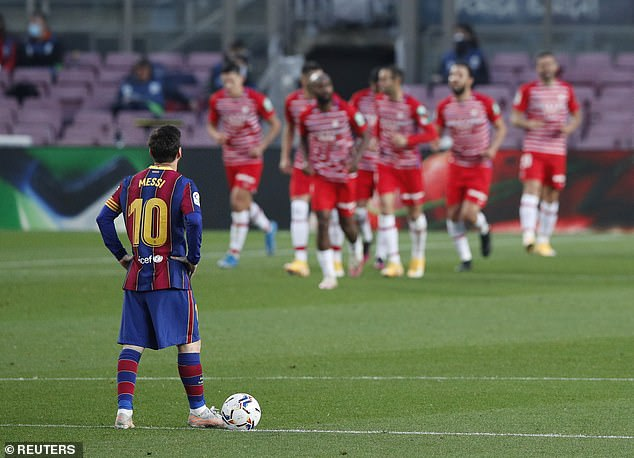 It wasn't Barcelona's night on Thursday as they suffered a shock defeat at home to Granada