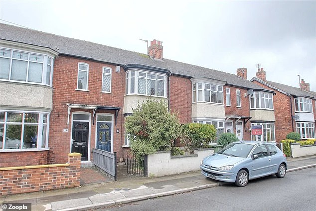 This three-bedroom terrace in Norton, Stockton-On-Tees, is for sale for £135,000, via estate agentsMichael Poole