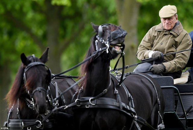 The Duke of Edinburgh was an enthusiastic carriage driver and took up the sport in his fifties in 1971, switching from polo due to an arthritic wrist