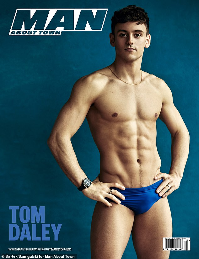 Speaking out:Tom Daley has revealed his upset that son Robbie, two, won't be able to watch him compete at the 2021 Olympic Games