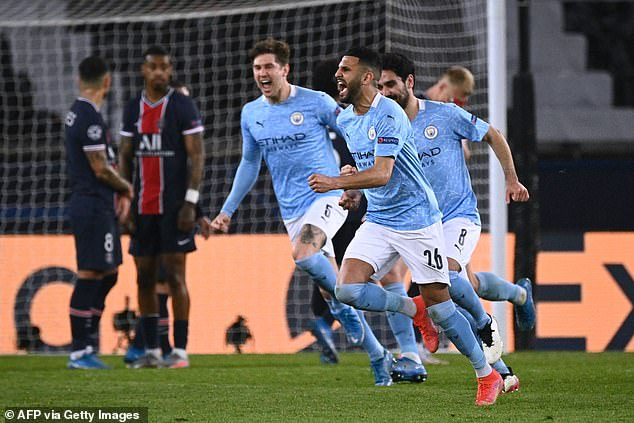 City know that a similar display to the first-leg win over PSG in the return leg will be enough