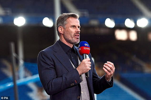 Jamie Carragher thinks Man United are not too far away from challenging for the title next term