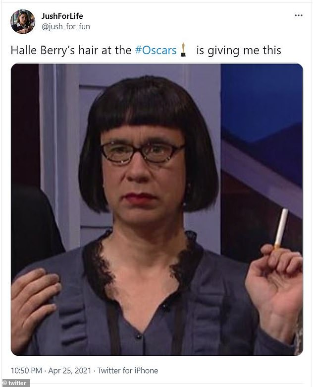 Close:Another user compared it to a severe bob that Fred Armisen wore on Saturday Night Live while dressed as a woman