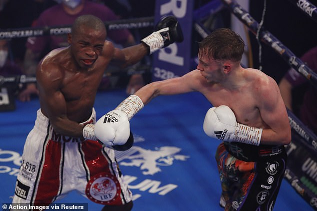 The 25-year-old took the IBF belt by inflictingMoruti Mthalane's first defeat since 2008