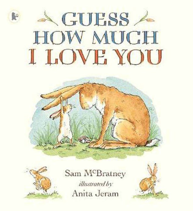 Bedtime story: The Northern Irish actor, 62, recorded the audio version of Sam McBratney's much-loved book, Guess How Much I Love You, in 2005