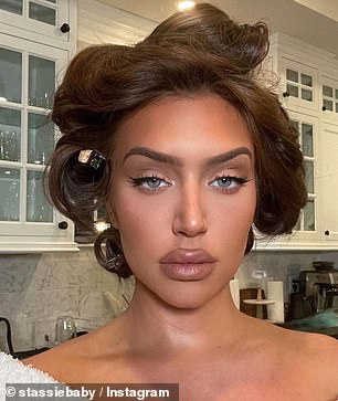 Glam squad: The ladies are rarely seen out without a full face of makeup and share similar facial proportions