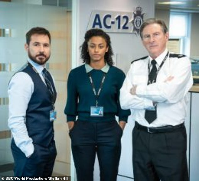 Cliffhanger: This comes as Line Of Duty fans eagerly await the highly anticipated series finale of Line Of Duty sixth series tomorrow night (BBC One, 9pm)