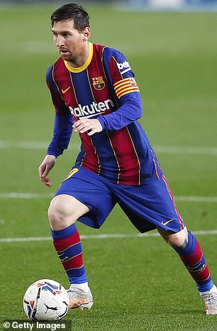 The youngster is a similar height to the Barcelona star, is left-footed and is brilliant at dribbling