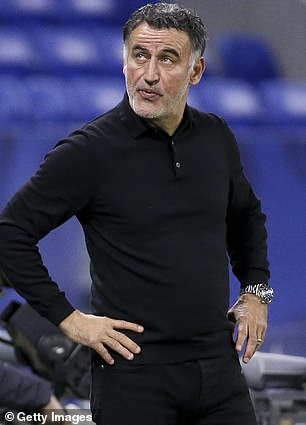 Lille boss Christophe Galtier is said to be one of the options Napoli are considering