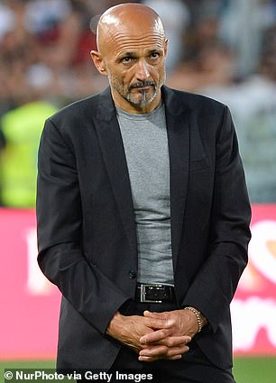 Former Inter Milan bossLuciano Spalletti is also on the list