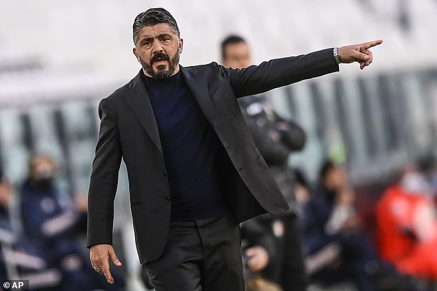 Napoli are reportedly considering three candidates to replace manager Gennaro Gattuso