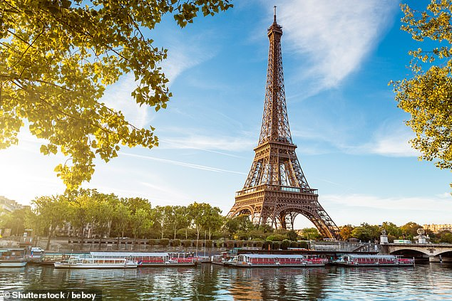 Rachel said her favourite foreign city is Paris, where she lived for eight years