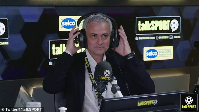 It was revealed on Friday that Mourinho will join Talksport's coverage of the Euros tournament