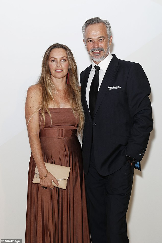 'I think we were in a bit of a bubble': Cameron Daddo says he and his model wife Alison Brahe 'were unaware of the level of interest' surrounding their 1991 marriage. Pictured in 2019
