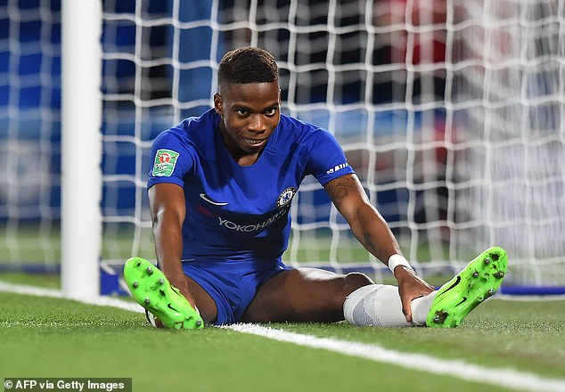 Chelsea midfielder Charly Musonda (pictured) has opened up on his four-year injury struggle