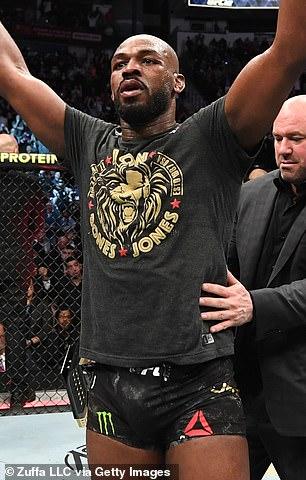 Former light heavyweight kingpin Jones is desperate to take on Ngannou