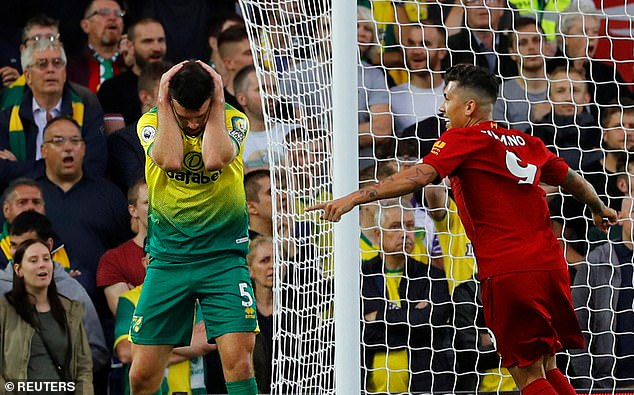 Krul says Norwich were chucked in the deep end last season, with their first game at Anfield