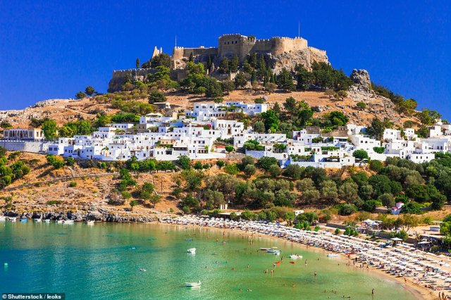 The Prime Minister is set to issue the first list of 'green' countries that holidaymakers can visit without quarantine within days (Greece pictured)