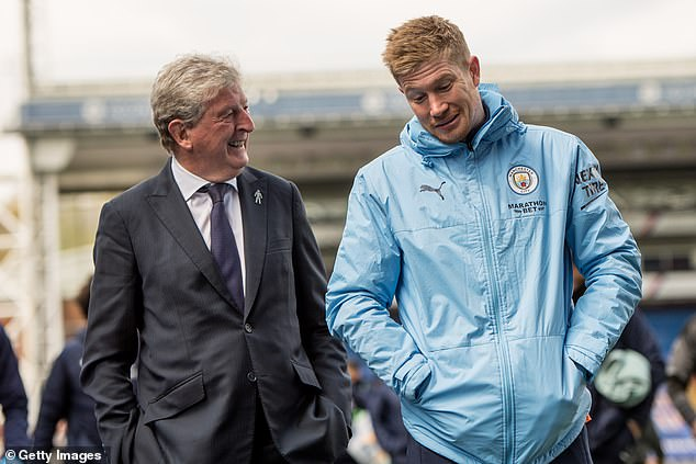 Hodgson was full of praise for City, saying: 'I don't think I've come across a team that good'
