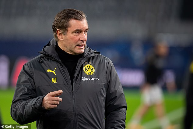 Dortmund director Michael Zorc has admitted the club have an understanding with Sancho