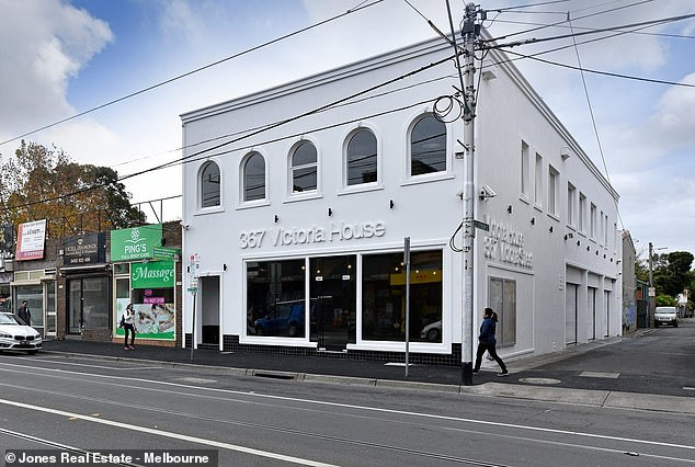 Dustin Martin has gone on a $14million property shopping spree including this re-designed warehouse in Richmond