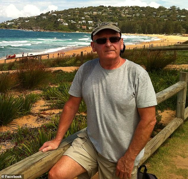 Heartbroken uncle Michael Turnbull (pictured), from Canterbury, appealed on social media for the public's help to catch the killer