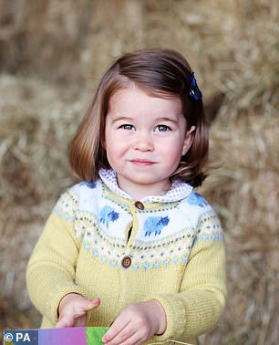 Princess Charlotte, aged two
