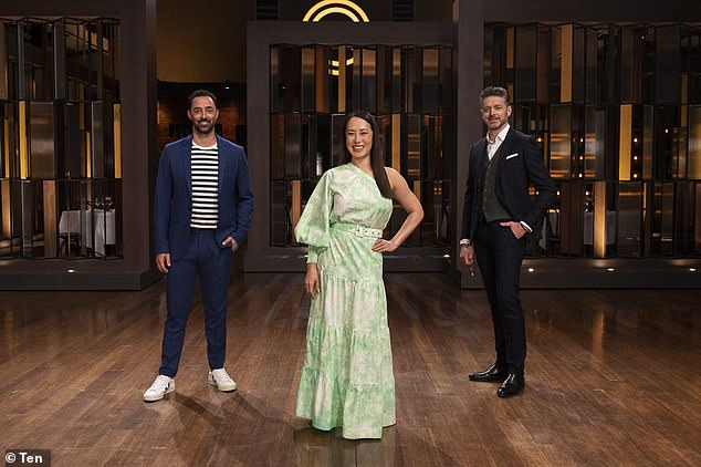 Slide: MasterChef Australia saw a ratings decline in its first week, pulling in a paltry 527,000 metro viewers, according to Mediaweek. The reality show which broke the 'magic million' mark in its first week last year. Pictured judges Andy Allen, Melissa Leong and ock Zonfrillo