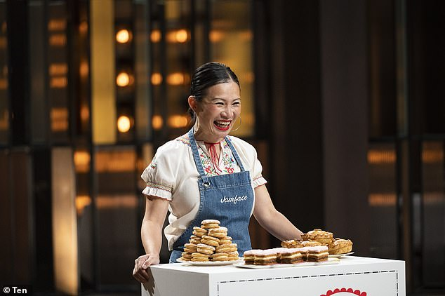 Star power: It comes after former Channel 10 executive Rob McKnight said he believes that last year's impressive ratings were mainly due to the cast of returning favourites, such as Poh Ling Yeow (pictured)