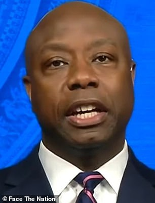 Senator Tim Scott, a Republican from South Carolina, was referred to as an 'Oreo'
