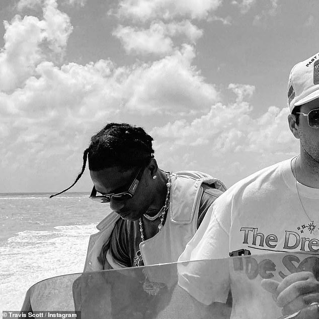 'Da escape plan': Scott explored the high seas with his friends