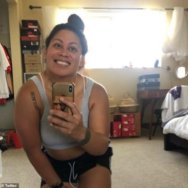 Mounga, from Utah, did not know she was pregnant, and gave birth at around 26 weeks