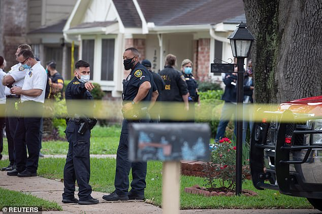 The discovery at the southwest Houston home on Friday began with a tip about a possible kidnapping